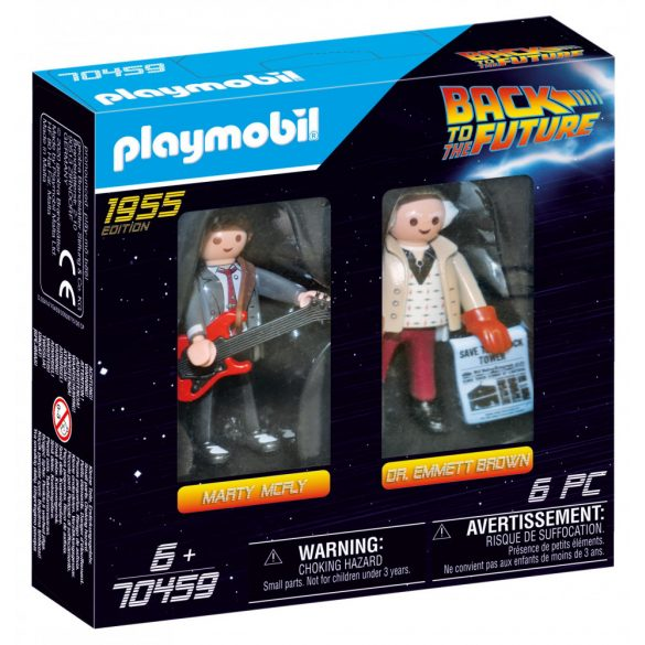 Back to the Future - Marty McFly és Dr. Emmett Brown 70459
